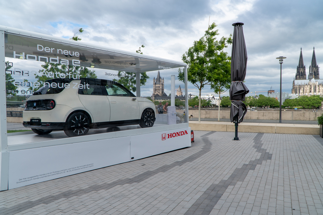 Electric Vehicle Roadshow by Honda | Mobile Marketing Exhibition Trailer