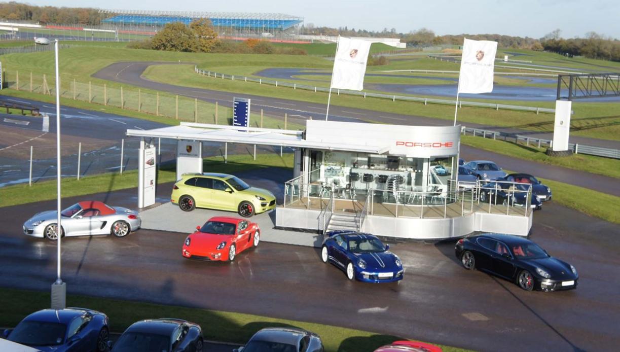 Porsche Mobile Showroom Trailer | Mobile Marketing Cars Roadshow