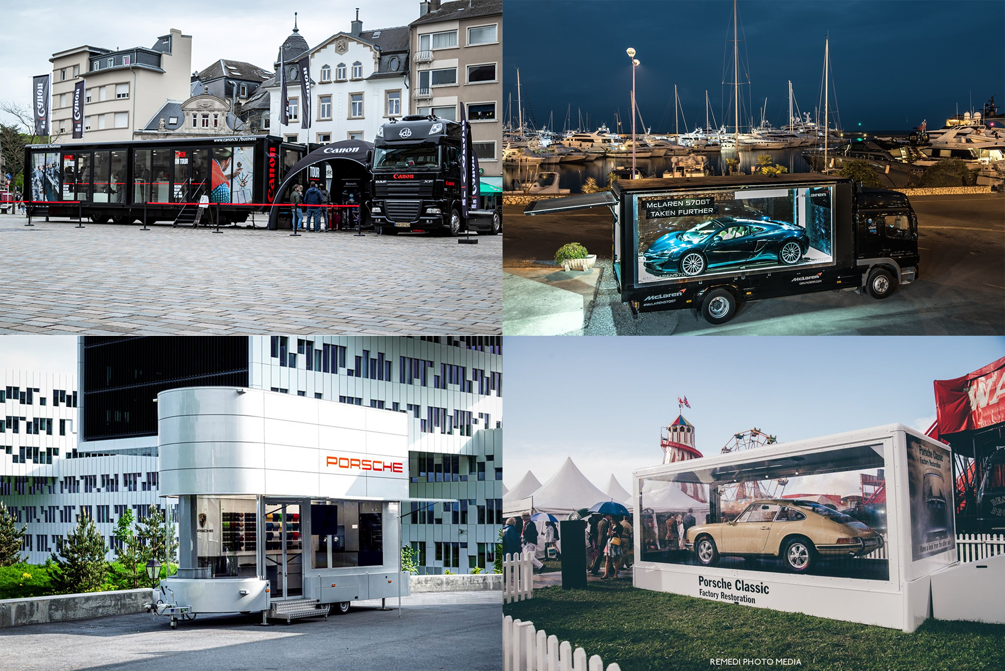 About The Clear Idea | Roadshow Exhibition Trailers & Mobile Marketing Pop-up Shops